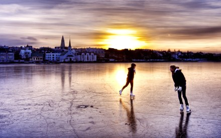 skating-on-frozen-lake-hdr-hd-wallpaper-68201